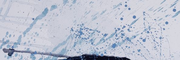 Pioggia sul lago